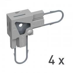 Back Frame Power Corner Set 15mm (Set of 4)