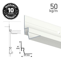 Ceiling Strip White 300cm