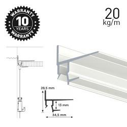 Shadowline Masonry White 250cm - 12.5 mm Plasterboard