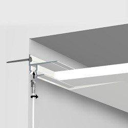 Shadowline Masonry White 250cm - 9.5 mm Plasterboard