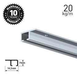 Top Rail Alu 200cm