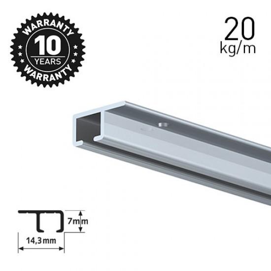 Artiteq Top Rail Alu 200cm