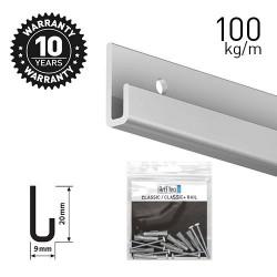 Classic Rail+ Alu 200cm KIT