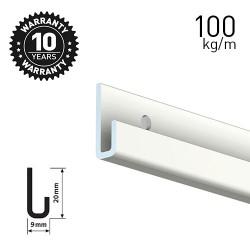 Classic Rail+ White 200cm