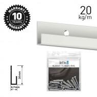 Classic Rail White Primer 200cm KIT