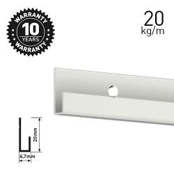 Classic Rail White Primer 200cm