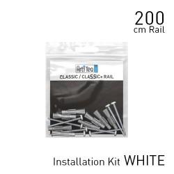 Classic Rail White 200cm KIT