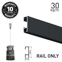 Click Rail Black 200cm