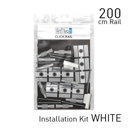 Click Rail White 200cm KIT