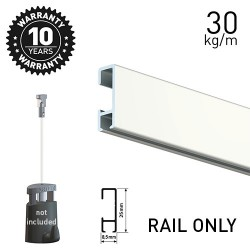 Click Rail White 200cm
