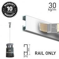 Click Rail White Primer 150cm