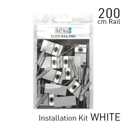 Click Rail Pro White Primer 200cm KIT