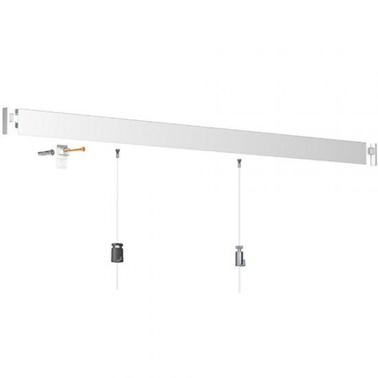 Click Rail Pro White Primer 200cm