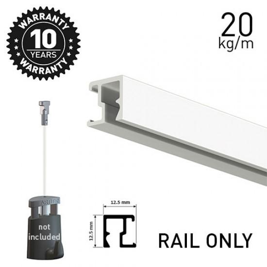 Contour Rail White Primer 200cm