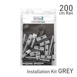 Contour Rail Alu 200cm KIT