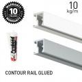 Contour Rail Glued
