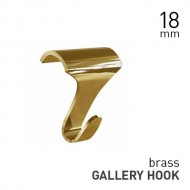 Gallery Hook Brass
