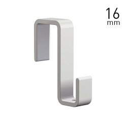 Panel Hook 16mm White