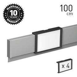 Info Rail 'me' Alu 100cm