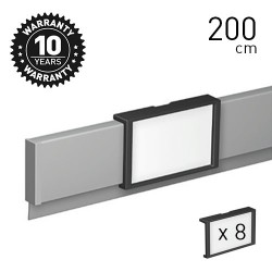 Info Rail 'me' Alu 200cm
