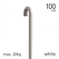 Rod Steel 3mm White 100cm