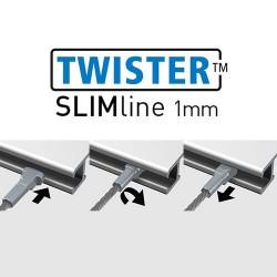 Twister Slimline 1mm Steel 300cm