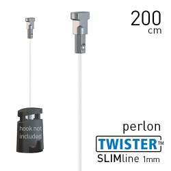 Twister Slimline 1mm Perlon 200cm