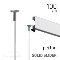 Solid Slider 2mm Perlon 100cm