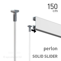 Solid Slider 2mm Perlon 150cm