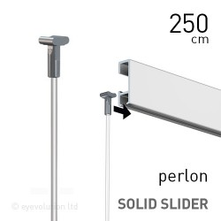 Solid Slider 2mm Perlon 250cm