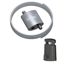 Loop Hanger + Steel Cable & Micro Grip Slimline Set
