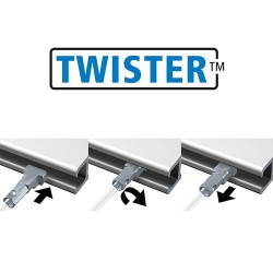 Twister 2mm Perlon 150cm - 10pcs
