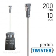 Twister 2mm Perlon 200cm - 10pcs