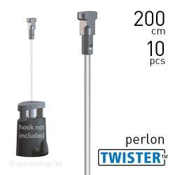 Twister 2mm Perlon 200cm - 10pcs