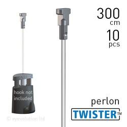 Twister 2mm Perlon 300cm - 10pcs