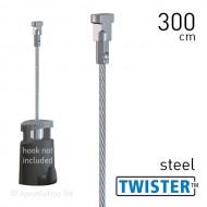Twister 2mm Steel 300cm